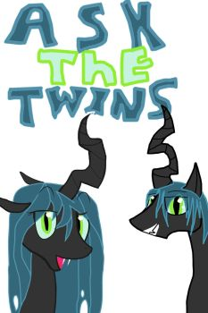 ask the changeling twins by spartianfox