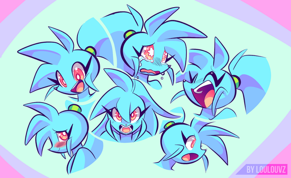 Spaicy faces by LoulouVZ