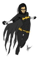 Black bat - Colored by viickylo