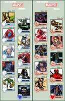 My Favorite Marvel Characters by N0-oB213