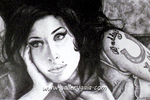 Amy Winehouse by GalleryGaia