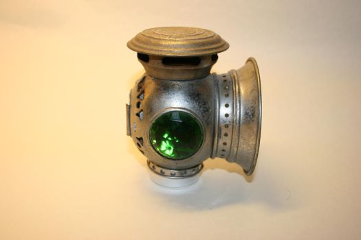 Steampunk bicycle light 2 by deadenddoll-stock
