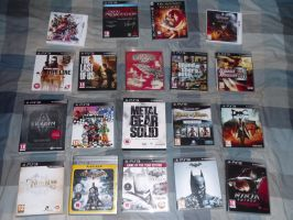 My game collection 2013 by stevemacqwark