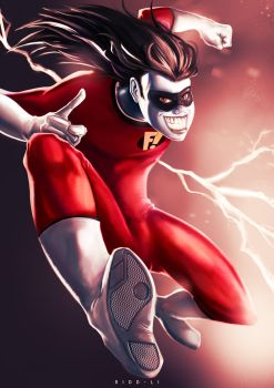 Freakazoid! Fan Art by Ridd-Li