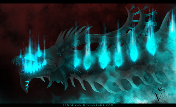 3rd Contest Prize: Abyss. by PandiiVan