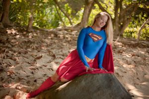 Supergirl - moment in nature by ladynoelle
