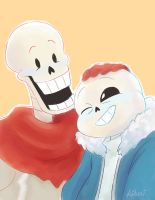 Skelebros by Gilzean