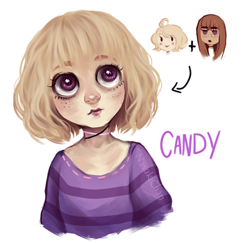 Bonnie and Catie's daughter by Nasuki100
