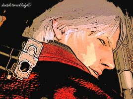 DANTE FACE DEVIL MAY CRY 4 by danteletsrocklady