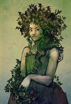 Day 5 Mother Nature by Ainaredien