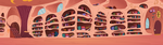 Twilights Library Long View by BonesWolbach