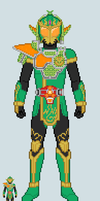 Toku sprite - Ryugen (Melon Energy Arms) by Malunis
