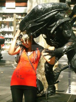 Me and the Alien by AngelTHdeLioncourt