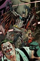 A strange Infinite Crisis Cover... by urban-barbarian