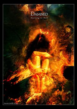 Damned:burnin' to hell by vehemencia
