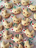 Fortune Cookies Kawaii Charms by LeChatNoirHandMade