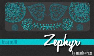 Zephyr - brush set 01 by manila-craze