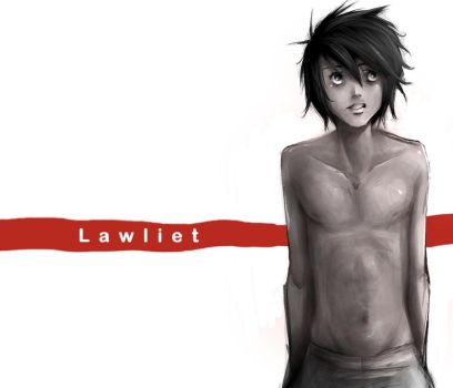 .Lawliet Speedpaint. by BlissfulGold