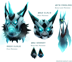 Family of ice demons