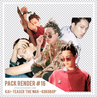 [PACK RENDER #16] KAI - 'THE WAR KOKOBOP' TEASER by DTD12