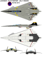 FA-70 Panther jolly retro 70s by bagera3005