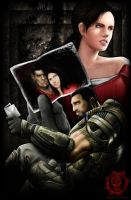 gears of war dom and maria by tapuklok