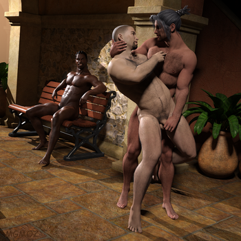 The Wrestlers - a New Move by MGMOZ