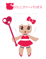 Hello Kitty Moe for FB friend ::GIFT:: by Itachi-Roxas