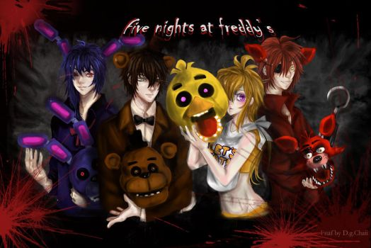 five nights at freddy's by DgChaii