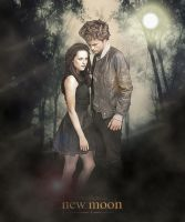 Edward and Bella poster by smiley089