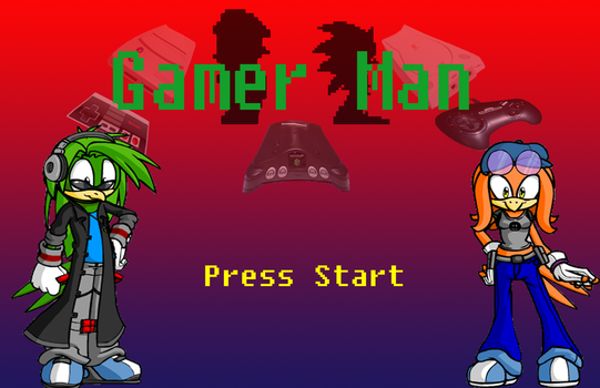 Title Screen Mock up by Caten-the-MagicBird