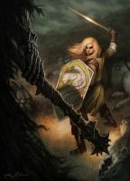 Eowyn's Stand by NickRoblesArt