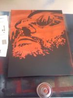 Leon The Professional stencil by fear-0f-james
