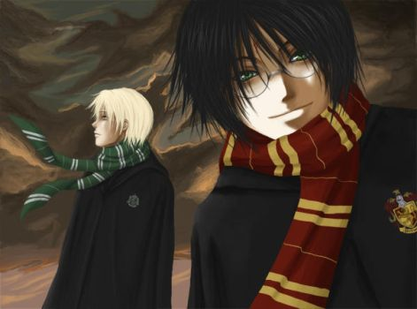 Harry and Draco - Unfinished by e-m-i