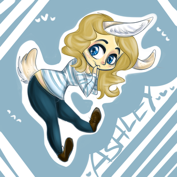 Bunny!Ashley Chibi by sassbutt