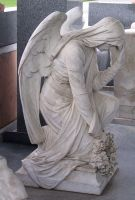 Rossville Cemetery Statue 15 by Falln-Stock