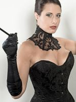 Edwardian overbust corset by AtelierSylpheCorsets
