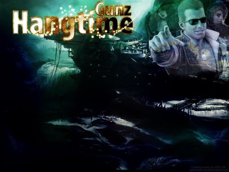 Hangtime Gunz Login Background by DEV-RB