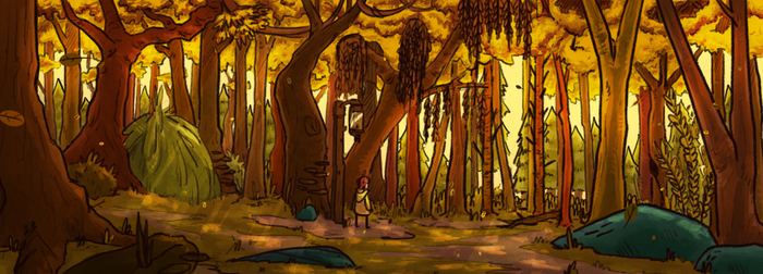 Corebound Forest by Bored-dood