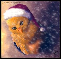 25. December: Zapdos. by Soulfoxii