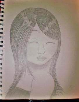 A Girl's Face by purplepeep22