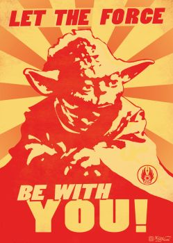 Let The Force Be With You by HeliusFlame