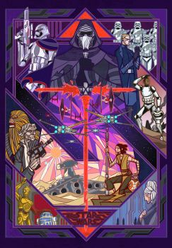 starwars VII:The Force Awakens by breath-art