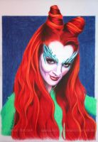 Poison Ivy by WitchiArt