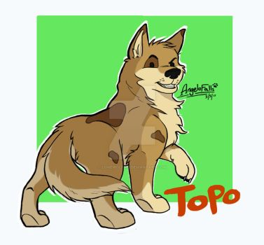 Topo: Long Haired Coat Design by LoneWolf510