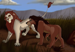 Lion's Share by TomCat-Priest