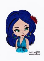 The Earings Colored by Maiko-Girl
