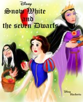 Snow White fan book cover by Kevsoraone