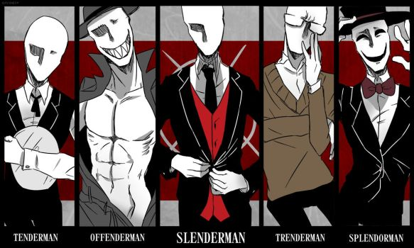 Slender Brothers by Alloween