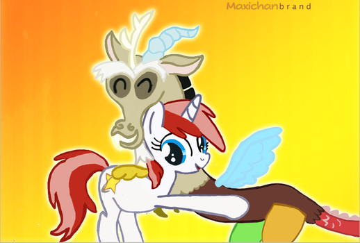 Discord y Parky by Maxiblash